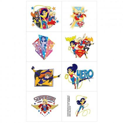 DC Super Hero Girls™ Tattoo Favors