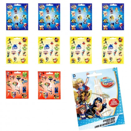 DC Superhero Girls ™ Sticker Booklets