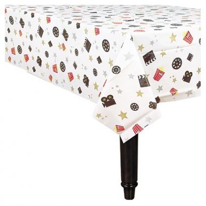 Director's Cut Plastic Table Cover - Popcorn