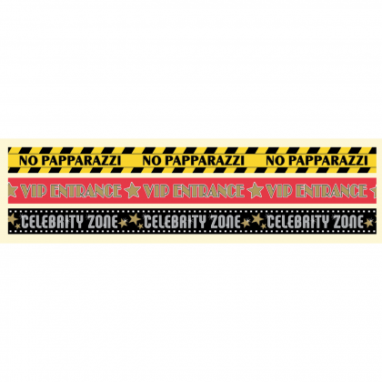 Lights! Camera! Action! Glossy Party Tape - Plastic