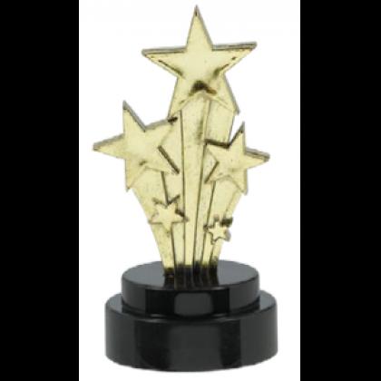 "4"" Hollywood Trophies - Plastic"