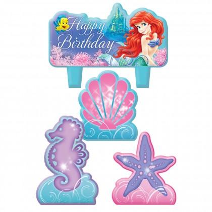 ©Disney Ariel Birthday Candle Set