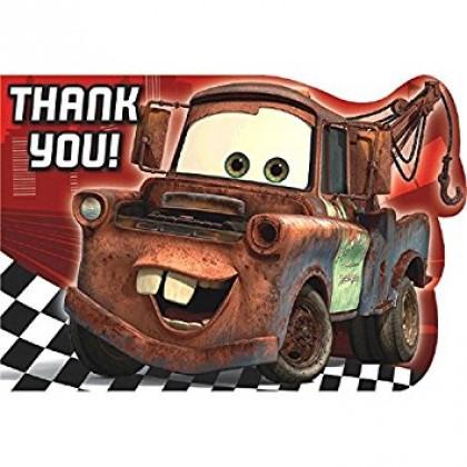 ©Disney/Pixar Cars Formula Racer Postcard Thank You Cards