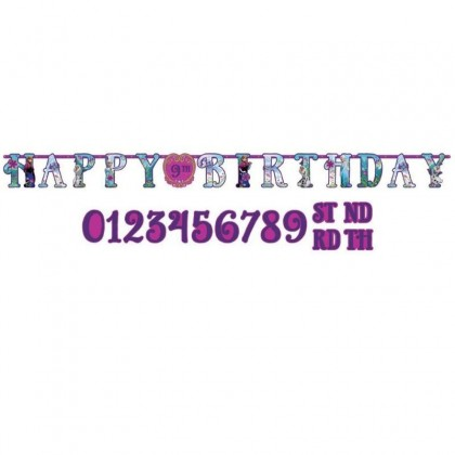 ©Disney Frozen Jumbo Add-An-Age Letter Banner - Printed Paper