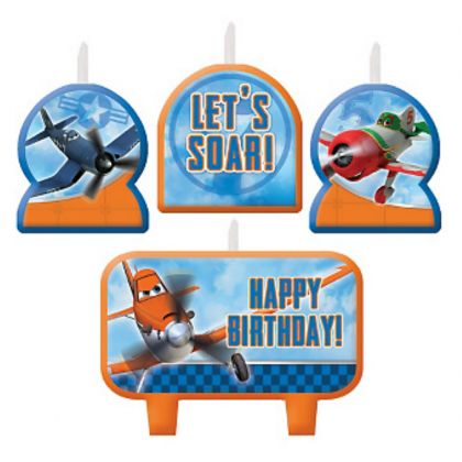 ©Disney Planes Dusty & Friends Birthday Candle Set