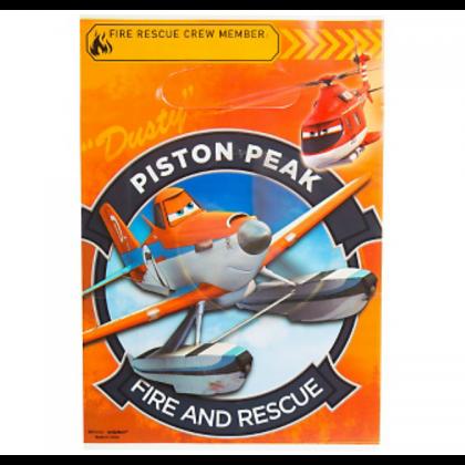 ©Disney Planes Dusty & Friends Folded Loot Bags - Plastic