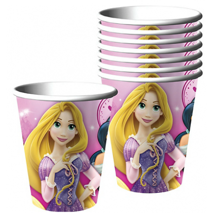 ©Disney Sparkle Princess Cups, 9 oz.