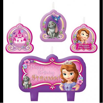 ©Disney Sofia The First Birthday Candle Set