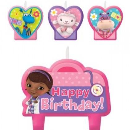 ©Disney Doc McStuffins Birthday Candle Set
