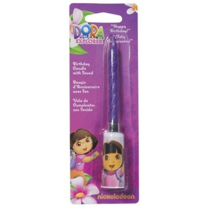 Dora The Explorer Musical Sound Candle