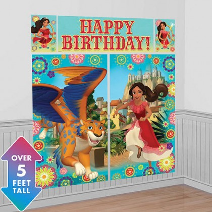 Disney Elena of Avalor Scene Setters Wall Decorating Kit - Plastic