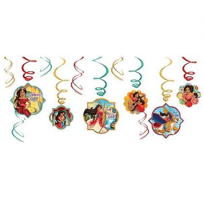 Disney Elena of Avalor Value Pack Foil Swirl Decorations