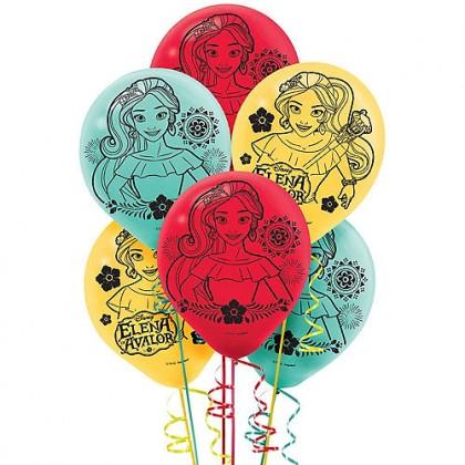 Disney Elena of Avalor Printed Latex Balloons