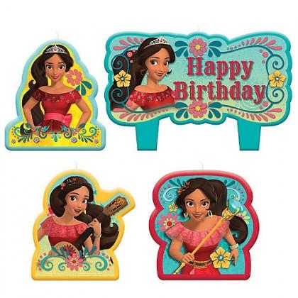 Disney Elena of Avalor Birthday Candle Set