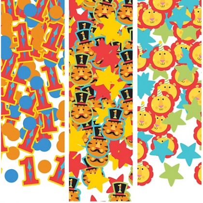 Fisher Price™ 1st Birthday Circus Value Pack Confetti - Paper