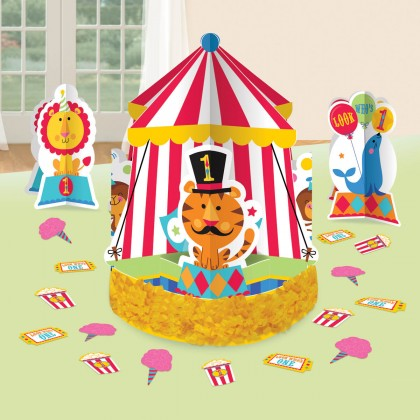 Fisher Price™ 1st Birthday Circus Table Decorating Kit