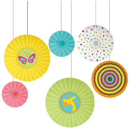 Fisher-Price™ Baby Paper Fan Decorations