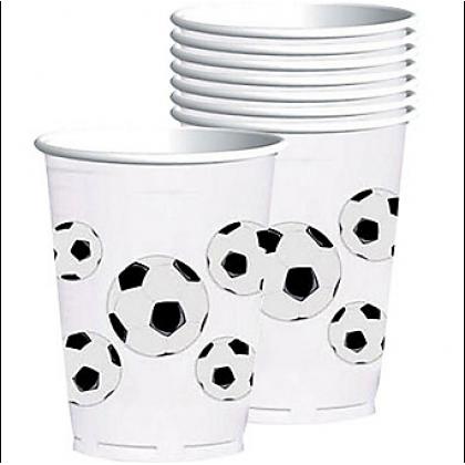 Soccer Fan Plastic Cups