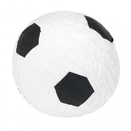 """10 1/2""""H x 10 1/2""""W x 10 1/2""""D Soccer Fan Conventional Piñata"""