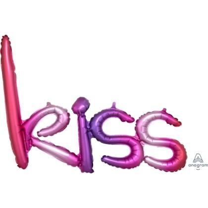 """G40 27"""" (Ombre) Script Phrase : Kiss"""