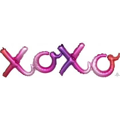 "G40 37"" (Ombre) Script Phrase : XOXO"