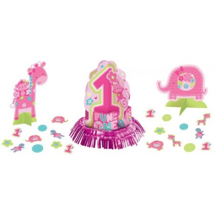 """""""One"""" Wild Girl Table Decorating Kit"""