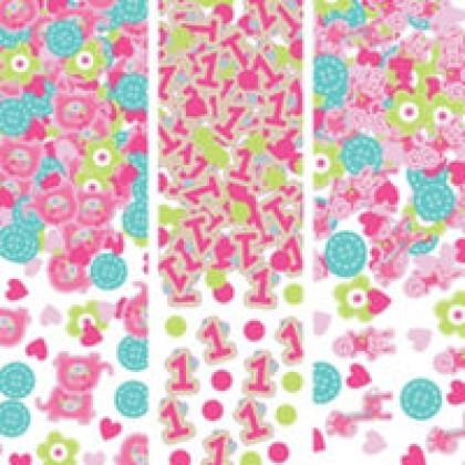 """""""One"""" Wild Girl Value Confetti - Paper"""