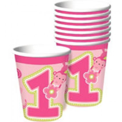 """One"" Wild Girl Cups, 9 oz."