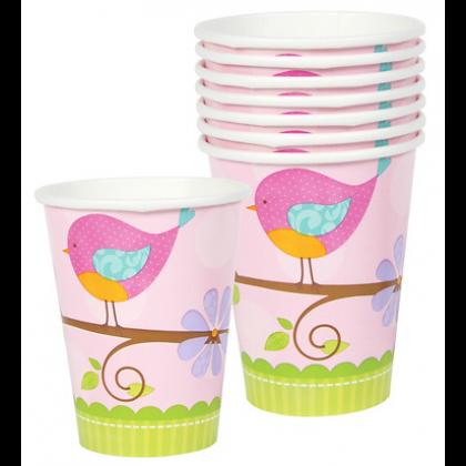 9oz Tweet Baby Girl Cups