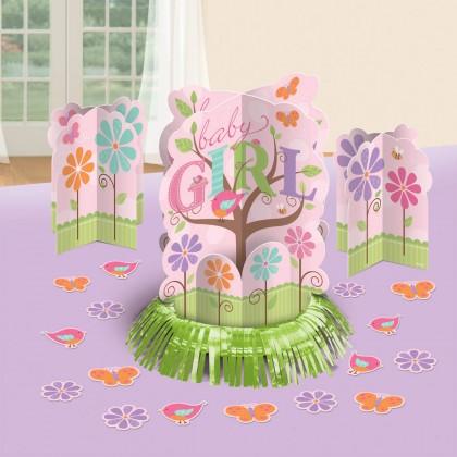 Tweet Baby Girl Table Decorating Kit