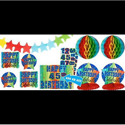 A Year To Celebrate - Happy Birthday Cust. Add-An-Age Dec. Kit