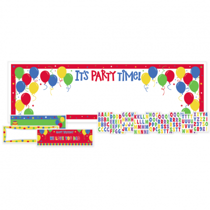 Balloon Fun Customizable Kit Personalized Giant Sign Banners