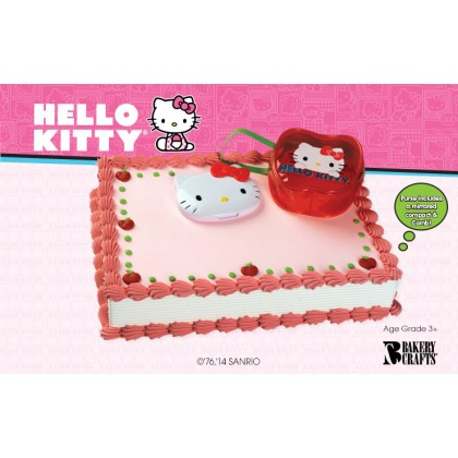 Hello Kitty Compact Purse Cake Topper