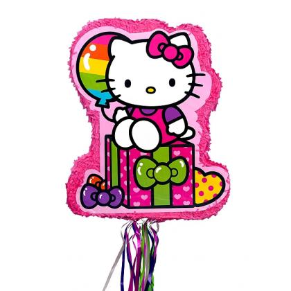 Hello Kitty® Rainbow Licensed Outline Piñata