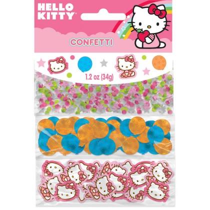 Hello Kitty® Balloon Dreams Value Confetti - Paper & Foil