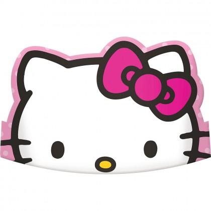 Hello Kitty® Rainbow Die-Cut Tiaras - Paper