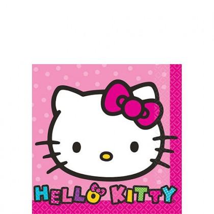 Hello Kitty® Rainbow Beverage Napkins