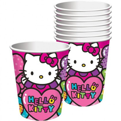 Hello Kitty Rainbow Cups 9 oz