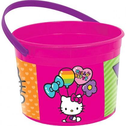 Hello Kitty® Rainbow Favor Container - Plastic