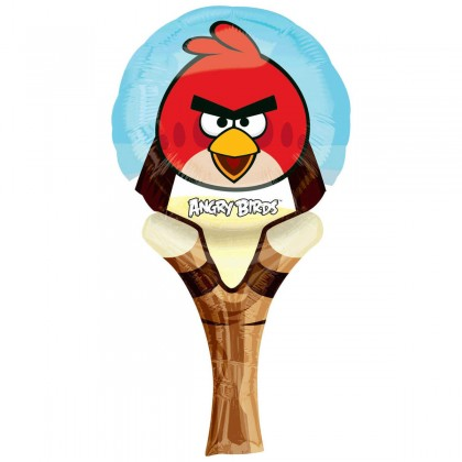 """L16 12"""" Angry Birds Sling Shot CI: Inflate-A-Fun™"""