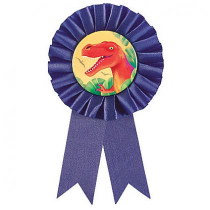 Prehistoric Party Award Ribbon