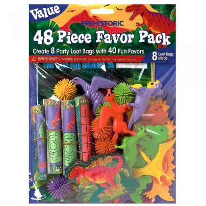 Prehistoric Party Value Pack Favors