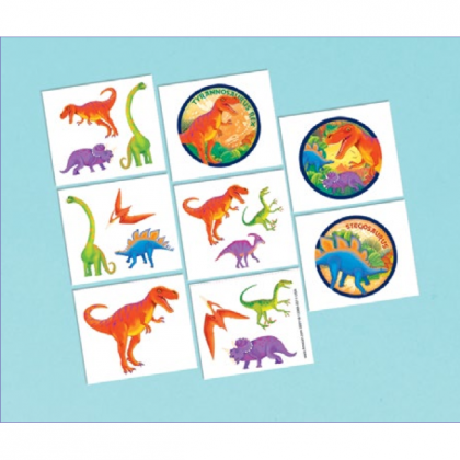 Prehistoric Party Tattoo Favors