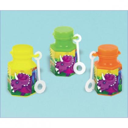 Prehistoric Party Mini Bubbles Favor 4PCS