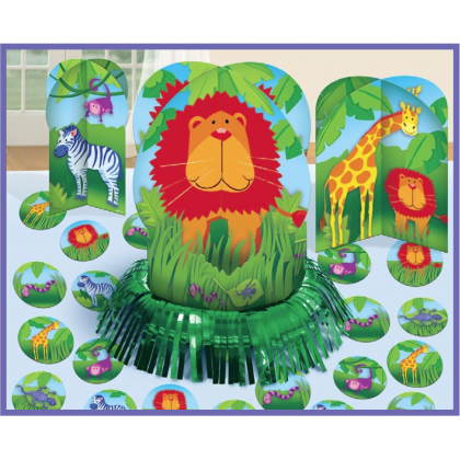 Jungle Animals Table Decorating Kit