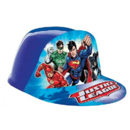 Justice League™ Vac Form Hat - Plastic