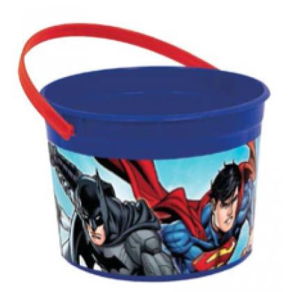 Justice League™ Favor Container - Plastic