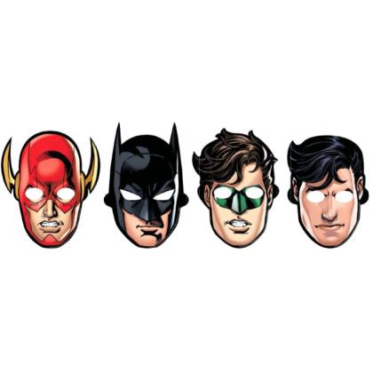 Justice League™ Masks - Paper