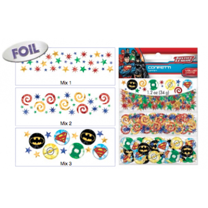 Justice League™ Value Pack Confetti - Paper & Foil