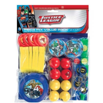 Justice League™ Mega Mix Value Pack Favors